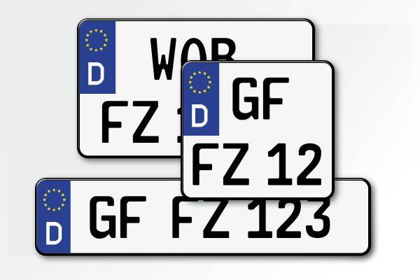 EU-KFZ-Kennzeichen